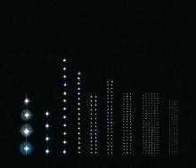sterrenhemel gesorteerd