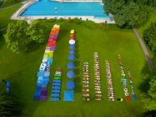 Zwembad gesorteerd