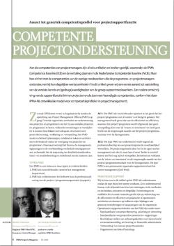 competente projectondersteuning
