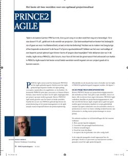 PRINCE2 Agile Projectie 04-2015